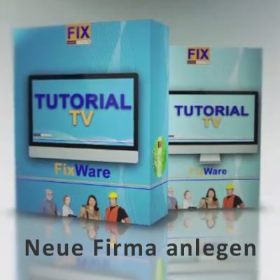 Tutorial TV: Neue Firma anlegen